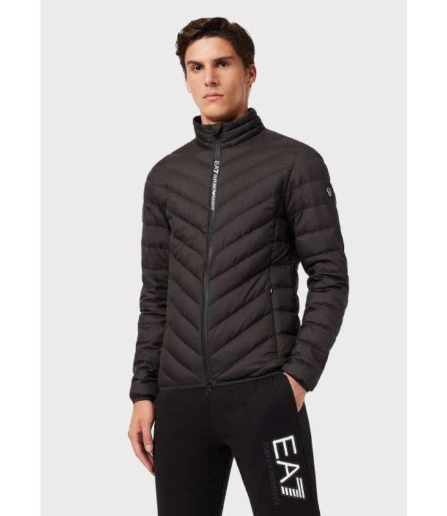 EA7 EMPORIO ARMANI Puffer Jacket - Black (8NPB06)