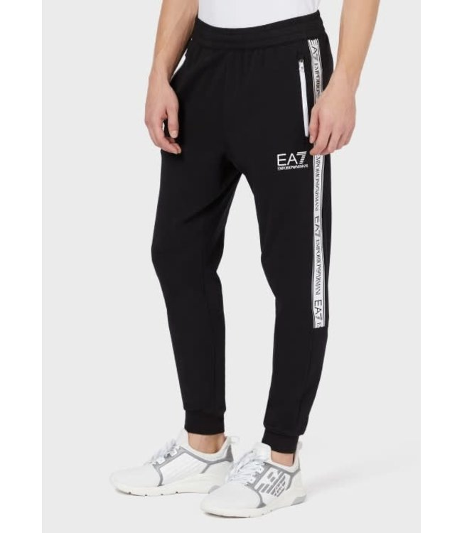 EA7 EMPORIO ARMANI Jogger With Logo Tape - Black (3KPP51)