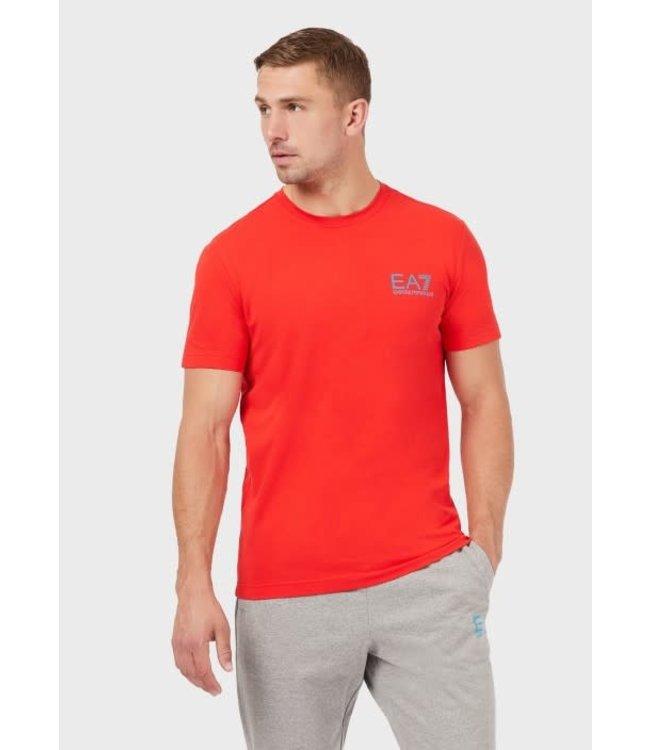 EA7 EMPORIO ARMANI T-Shirt - Red (3KPT06)