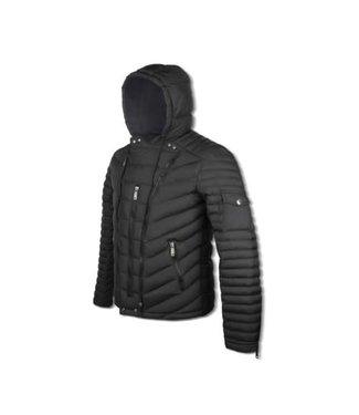 JEANROIS Hybrid Jacket - Black