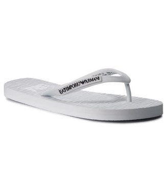 EA7 EMPORIO ARMANI Teenslippers - White/Black (XCQ002)