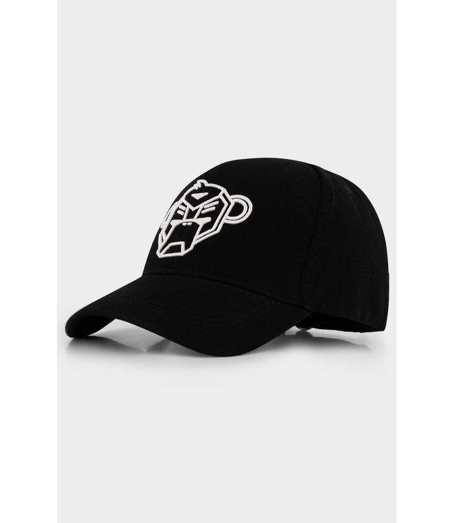 BLACK BANANAS Pique Cap - Black
