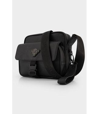 BLACK BANANAS Shadow Buckle Cross Bag - Black