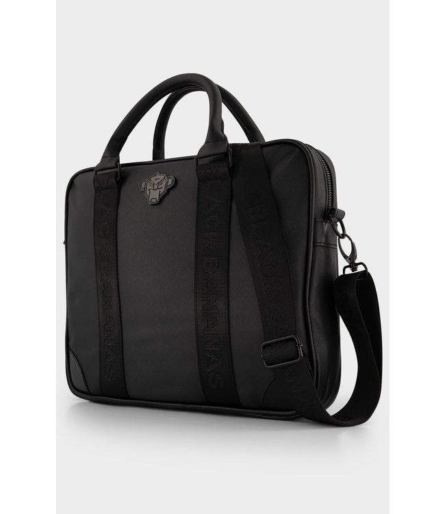 BLACK BANANAS Shadow Laptop Bag - Black