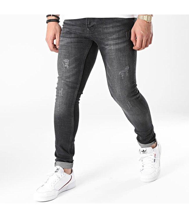 UNIPLAY Skinny Fit Jeans - Black (520)