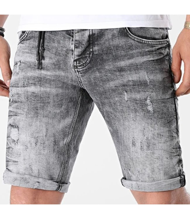 UNIPLAY Skinny Fit Short Jeans - Grey (366)