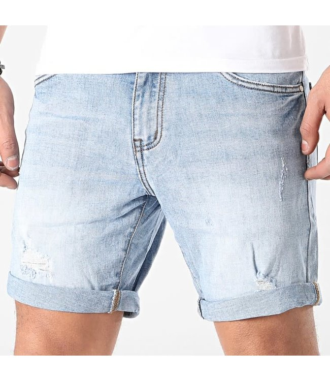 FRILIVIN Slim Fit Short Jeans - Blue (VJ268)