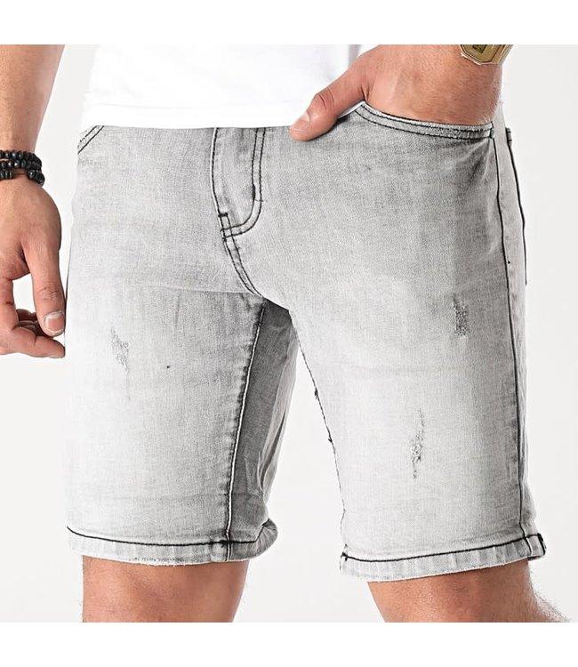FRILIVIN Slim Fit Short Jeans - Grey (VJ267)