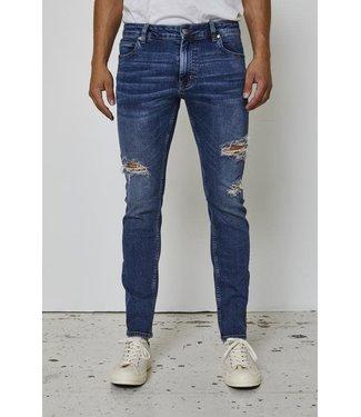 Just Junkies Skinny fit spijkerbroek Max Of 163 Holes - Blue  (JJ2157)