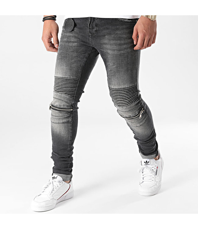 Uniplay Skinny Fit Jeans - Black (516)