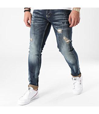 UNIPLAY Skinny Fit Jeans - Blue Denim (503)
