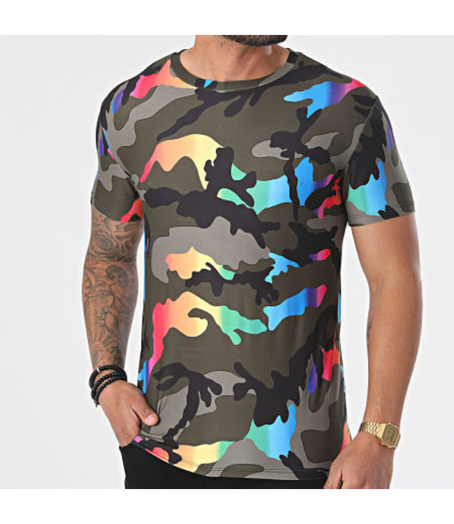 UNIPLAY Militaire Camo T-Shirt - (UY607)