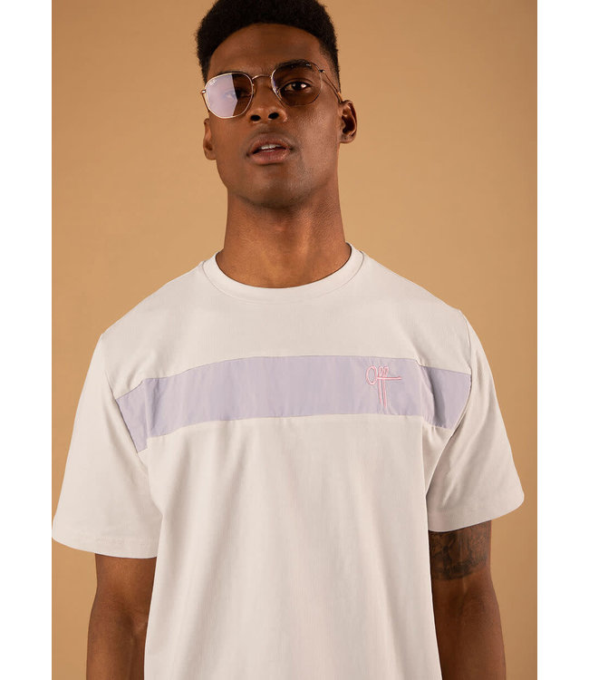 Off The Pitch The Comet Regular Tee - Light Grey
