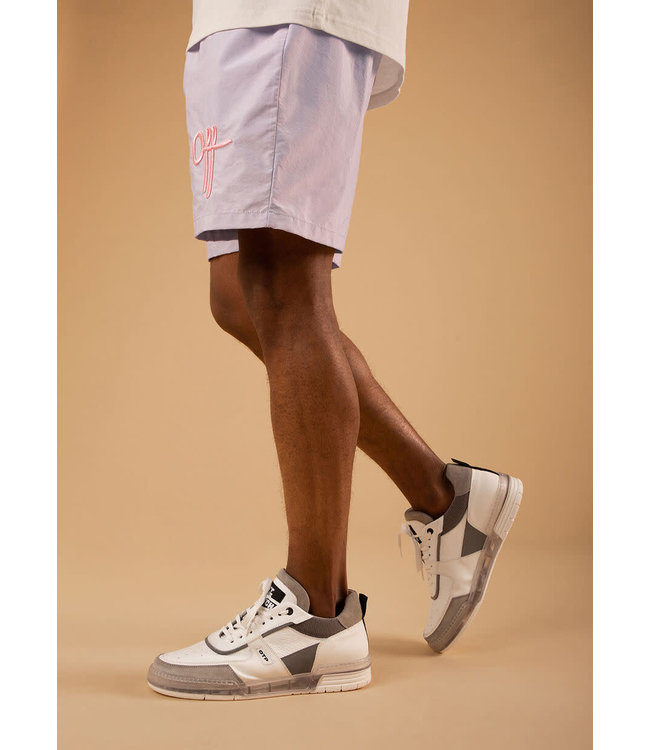 Off The Pitch The Comet Regular Short - Silver Grey