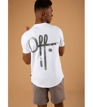 Off The Pitch The Homeworld Slimfit Tee - White