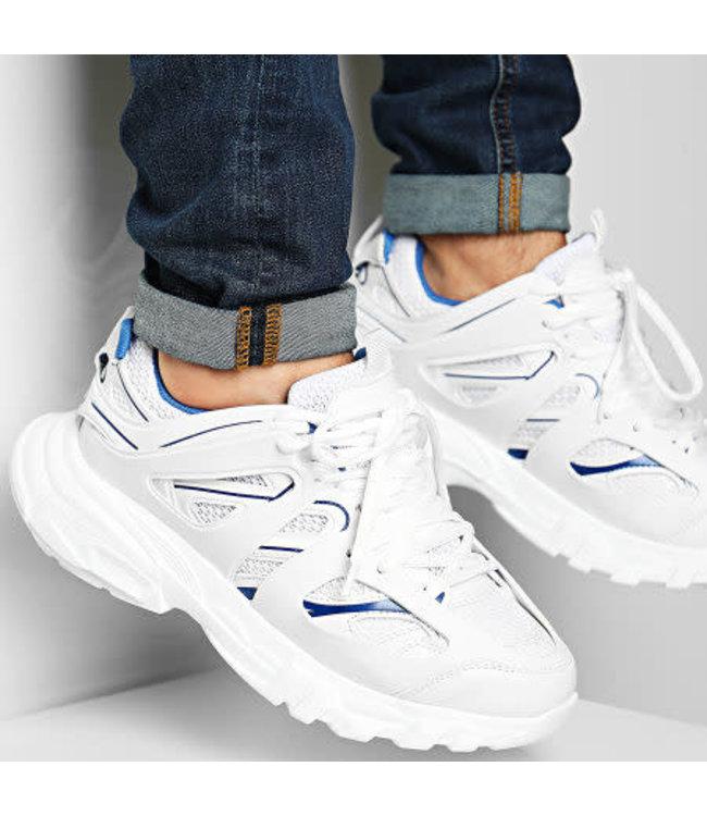 Uniplay Chunky Sneaker - White/Blue