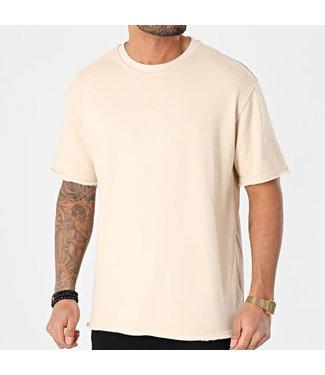 Frilivin Oversized T-Shirt - Beige (BM1146)