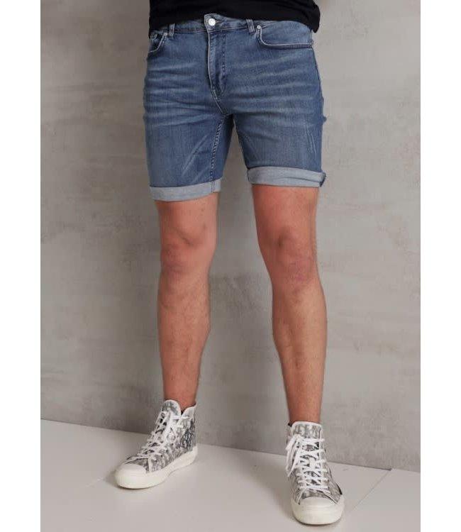 2Legare Noah Stretch Short Jeans - Light Blue (204)