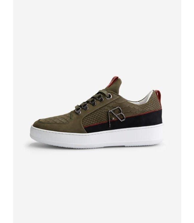 AB Lifestyle Footwear Leather - Dark Green