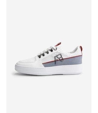 AB Lifestyle Footwear Leather - White/Light Grey