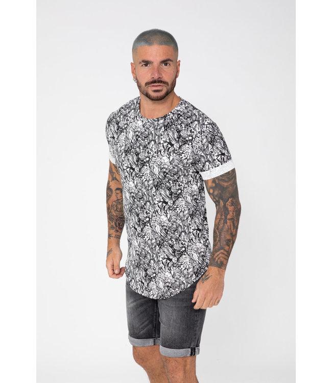 Frilivin T-Shirt - Black (U1160)