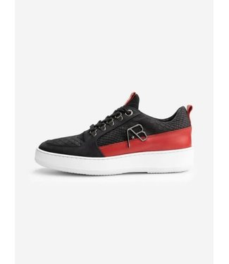AB Lifestyle Footwear Leather - Black/Red