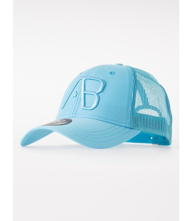 AB Lifestyle Retro Trucker Cap - Sky Blue