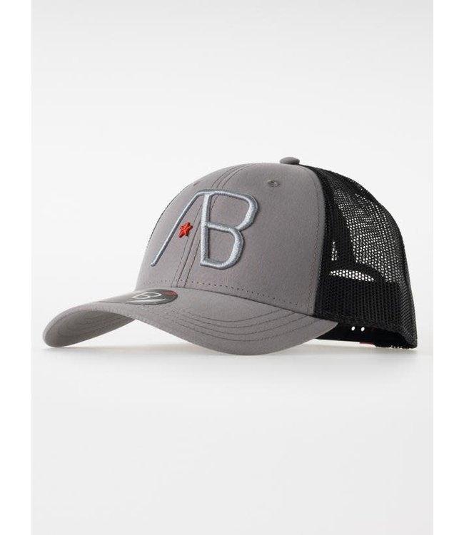 AB Lifestyle Retro Trucker Cap 2Tone - Black/Grey