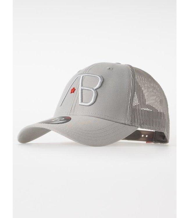 AB Lifestyle Retro Trucker Cap 2Tone - Grey/Grey