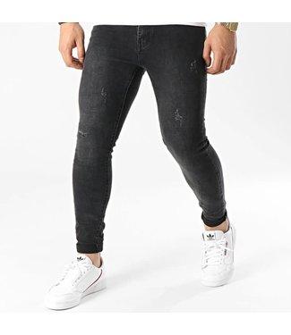 Frilivin Skinny Fit Jeans - Black (VJ286)