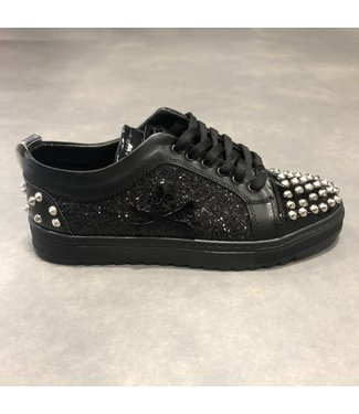 Uniplay Skull Sneaker - Black