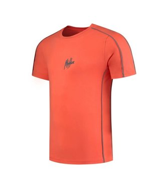 Malelions Thies T-Shirt 2.0 - Peach/Matt Grey