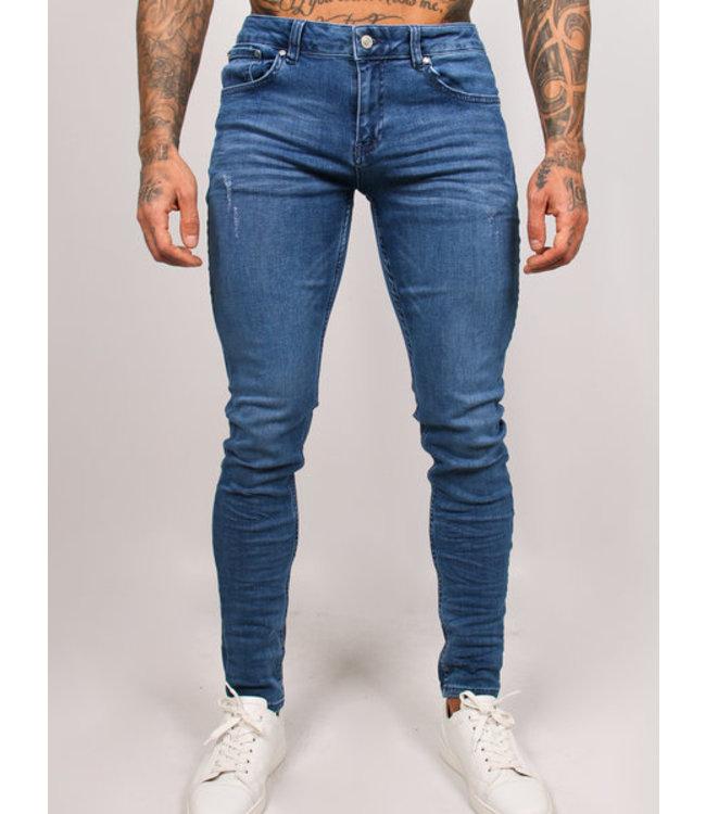 2Legare Noah Stretch Jeans - Light Blue (204)