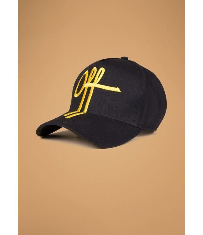 Off The Pitch The Sage Trucker - Black/Yellow