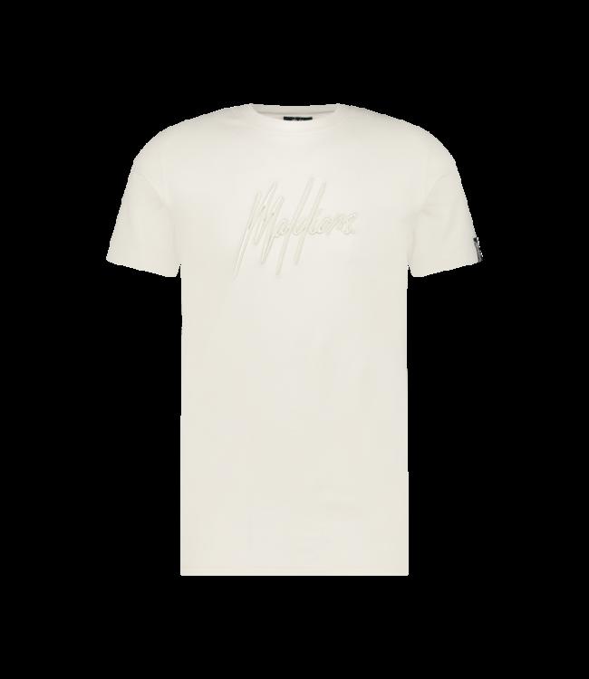 Malelions Essentials T-Shirt - White/Off-White