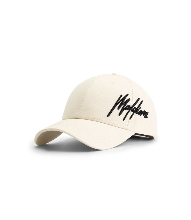 Malelions Essentials Cap - White/Off -White