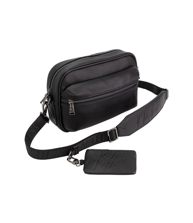 Malelions Void Messenger Bag - Black