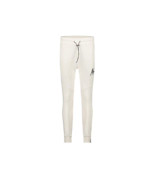 Malelions Essentials Trackpants - Off-White