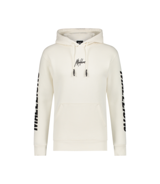 Malelions Lective Hoodie - White/Off White