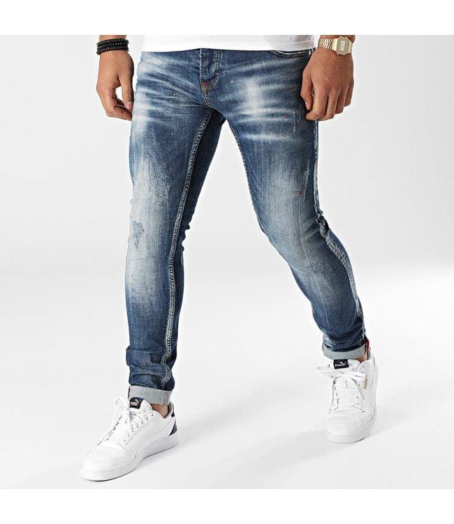 Uniplay Slim Fit Spijkerbroek - Blauw (589)