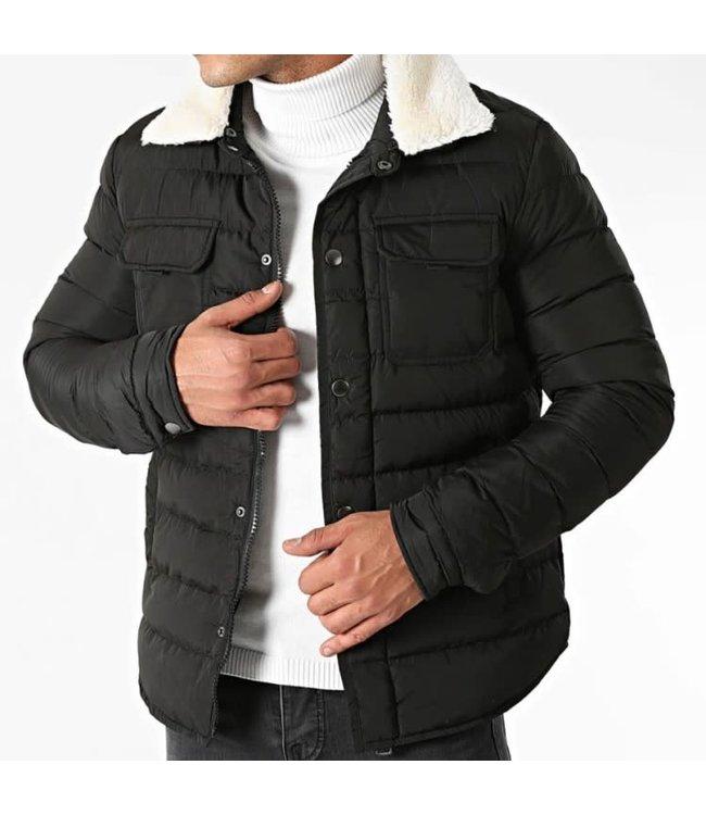 Frilivin Puffer Jacket - Zwart (AB6680)