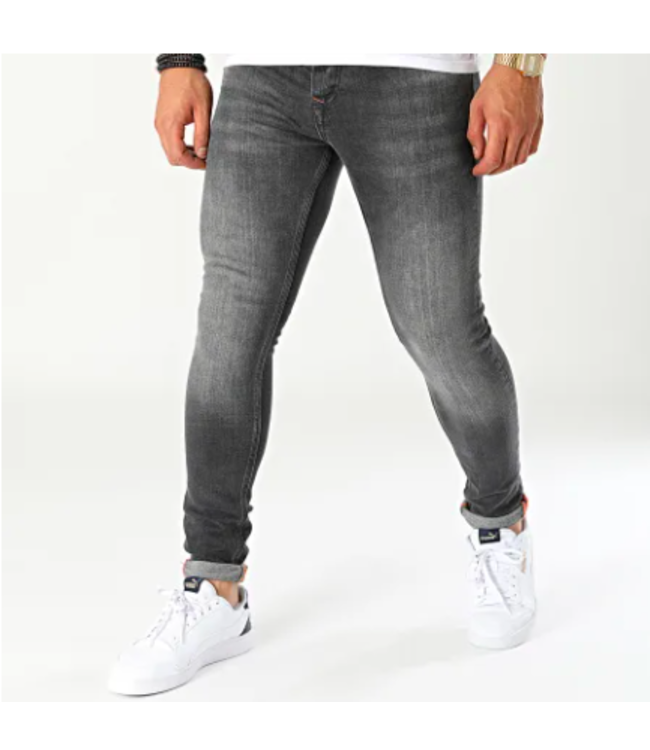 Uniplay Slim Fit Spijkerbroek - Zwart (566)