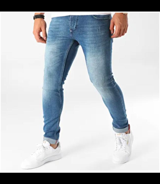 Uniplay Slim Fit Spijkerbroek - Blauw (580)