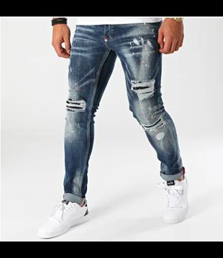 Uniplay Slim Fit Spijkerbroek -  Blauw Denim (571)