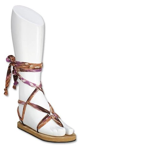 Boho Sandal Laces Purple Space