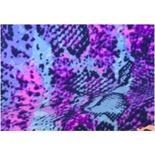 Coco Print Lace Purple Snake