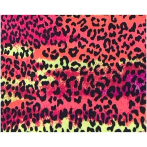 Fabric Sandals Original Pink Leopard