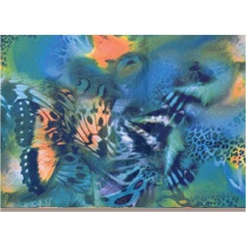 Stoff-Sandalen im Ballet-Stil Butterfly