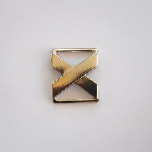Zilveren Gesp X