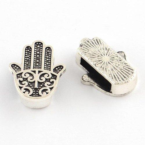 Zilveren Hamsa Hand